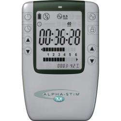 Alpha-Stim M Elektrotherapie, Craniale Elektrostimulation (CES) für Schmerzen, Migräne, Depression, Schlaflosigkeit, Angstgefühl