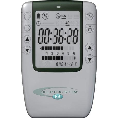 Alpha-Stim M - Elektrotherapie/Elektrostimulation für Schmerzen, Migräne, Depressionen, Schlaflosigkeit, Angstgefühle