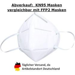 1000 x KALISIDUN KN95 Gesichtsmaske, 5-lagig, GB2626-2006