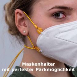 Maskenhalter OP/FFP - Fit & Park div. Farben