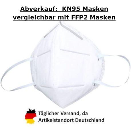 KALISIDUN KN95 Schutzmaske, Faltform, GB2626-2006. 95% Partikelfiltration