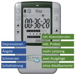 Alpha-Stim M - Bei Schmerzen, Schlaflosigkeit, Angstgefühlen, Depressionen mit CES und MET