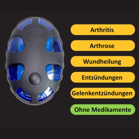 Oska Pulse bei Arthritis, Arthrose, Wundheilung, Entzündungen Electro-Zeutika