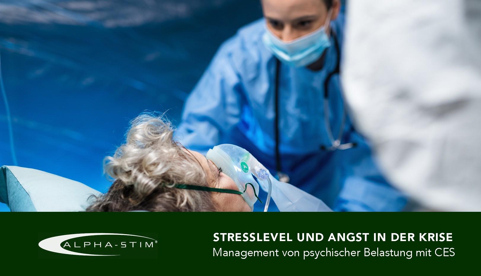 Stresslevel und Angst in der Krise
