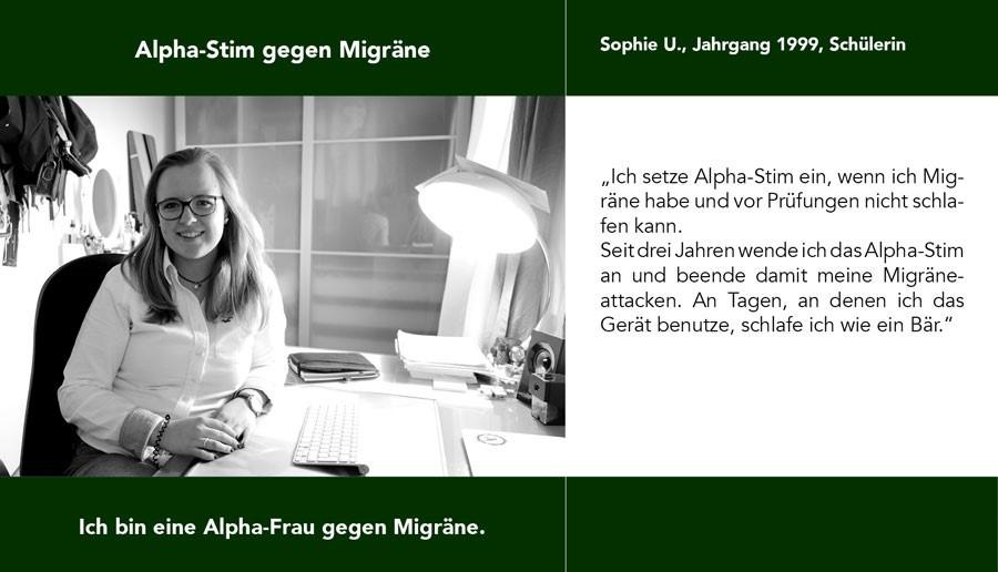 Alpha-Stim hilft gegen Migräne